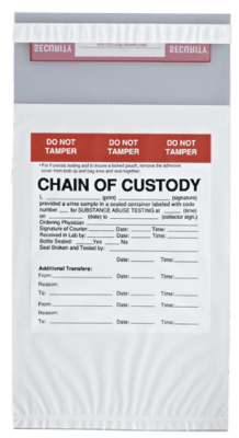Chain of Custody Bags